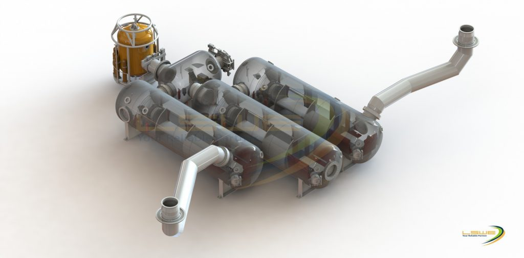 3D Graphics of Saturation Diving Complex (Internal) Image